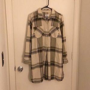 Old Navy Flannel Dress - Women's Medium - NWT